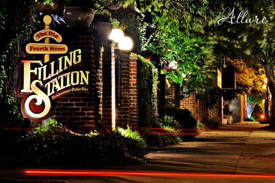 The Old Fourth Street Filling Station Simply The Best
